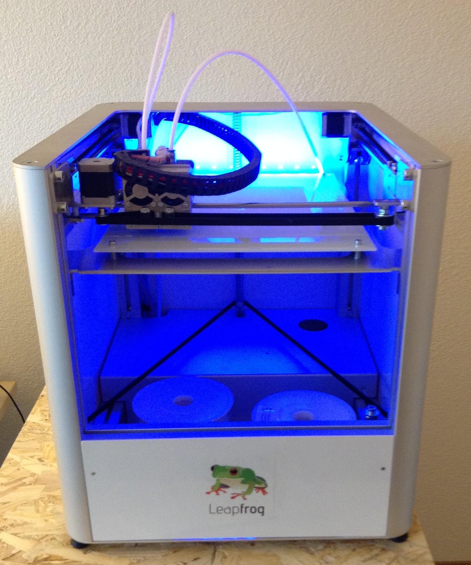 Bericht: Mein erster 3D-Drucker. Ein Creatr von Leapfrog.