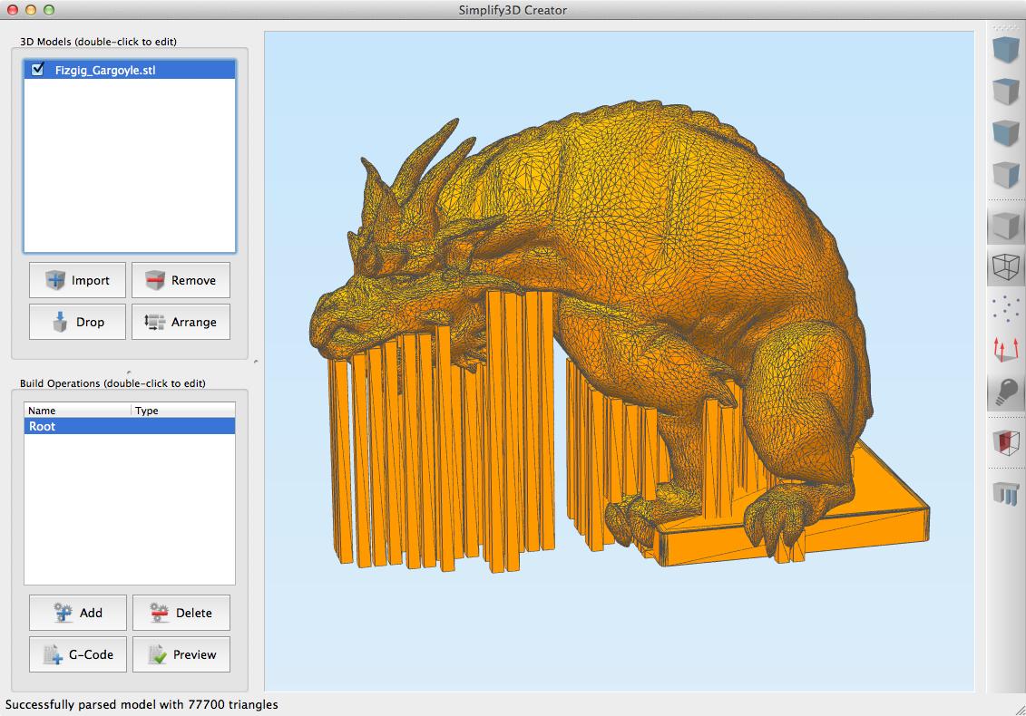 """Neue 3D Drucksoftware """"Creator"""" von simplify3D - Ein kurzer Überblick"""