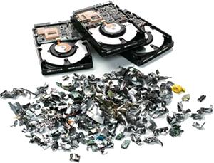 Festplatten Schreddern lassen