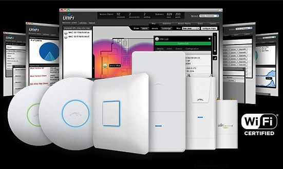 Professionelle, firmenweite WLAN Lösung mit Unifi Access Points (Ubiquiti Networks)